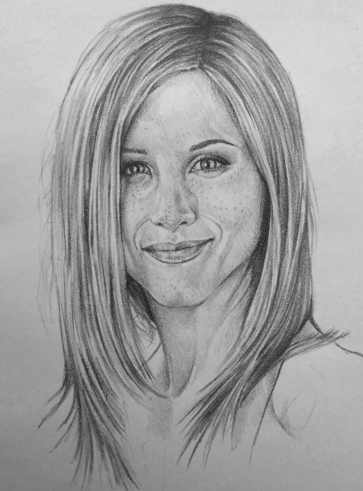 Jennifer Aniston by Esus